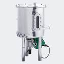 Pharmaceutical: Storage tank with magnetic agitator