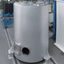 Cooling tank for cocoa beans