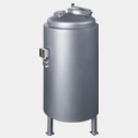 Pressure vessel with electrical heater