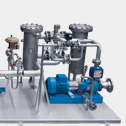 Chemicals:	Cooling water unit